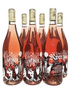 6 Pack 2017 Feral Rosé of Cab Franc